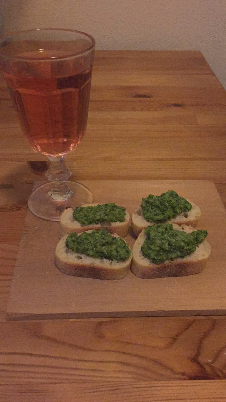 Veggie-Herb Bruschetta